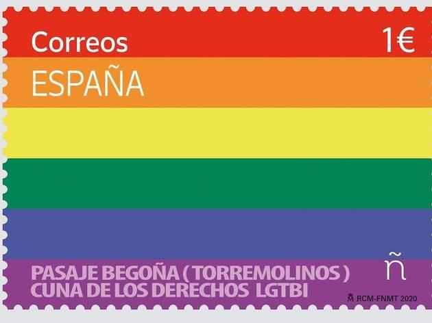 LGBTQ stamp 2020 Pride