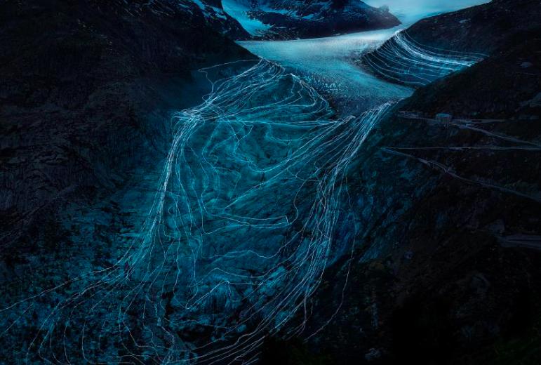 This digital art project explores Earth's decline