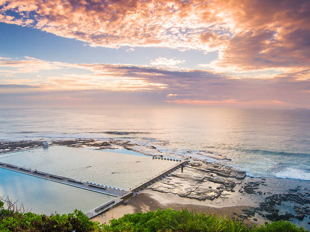 Merewether Ocean Baths, Newcastle