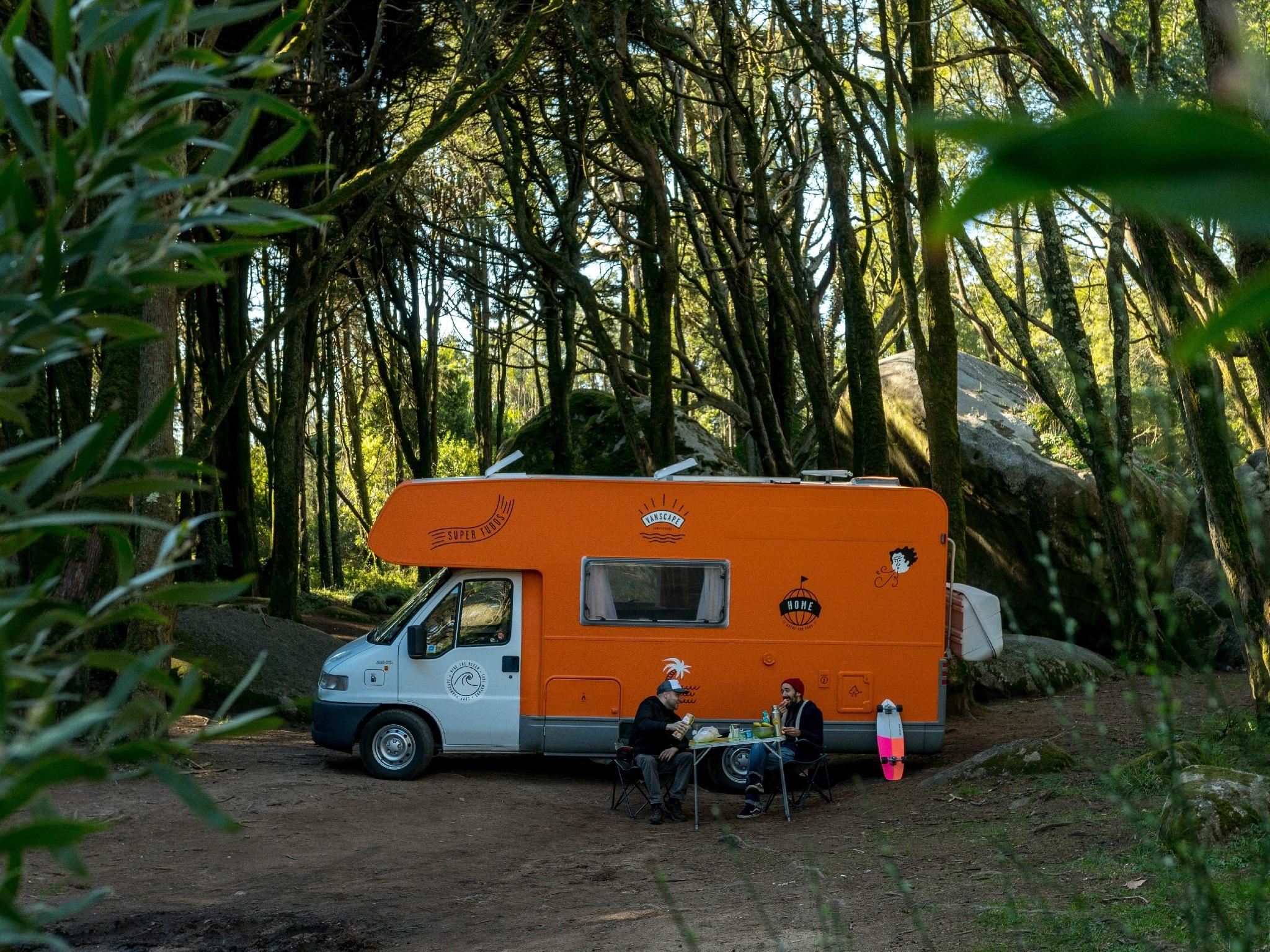 Caravana, Acampar, Vanscape