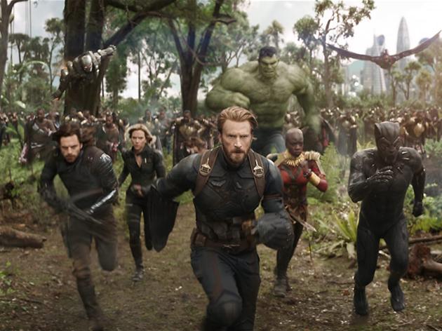 Os Vingadores: Guerra do Infinito
