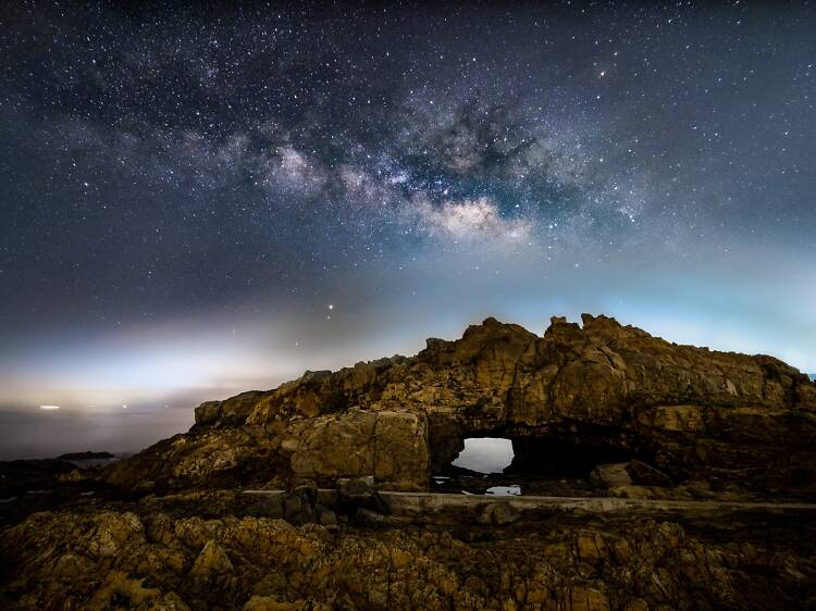 Snap a picture of the Milky Way