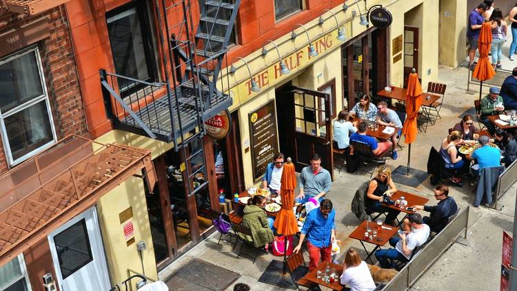 NYC outdoor dining