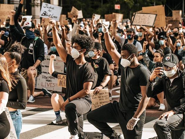 Black Lives Matter George Floyd NYC Protests