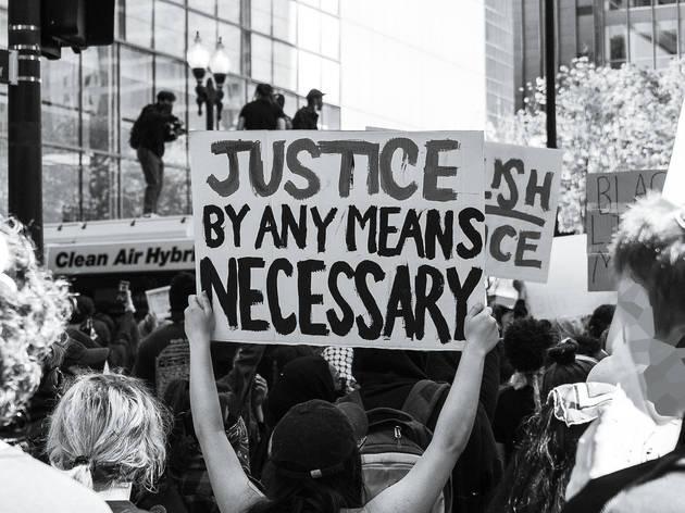 protest, BLM, black lives matter, chicago