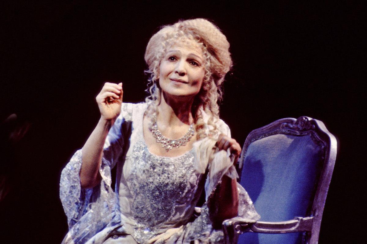Teresa Stratas as Marie Antoinette in John Corigliano's The Ghosts of Versailles at the Metropolitan Opera