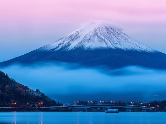 河口湖, Mount Fuji, Lake Kawaguchiko