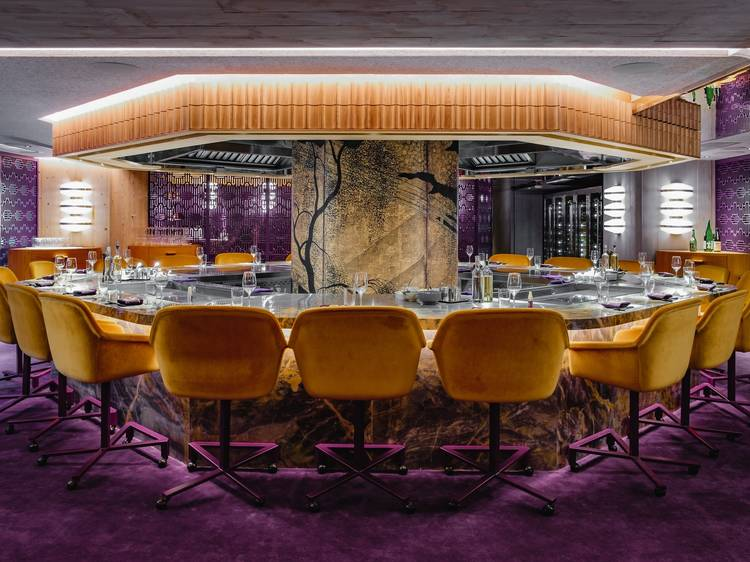 A lavish teppanyaki affair at Crown Super Deluxe