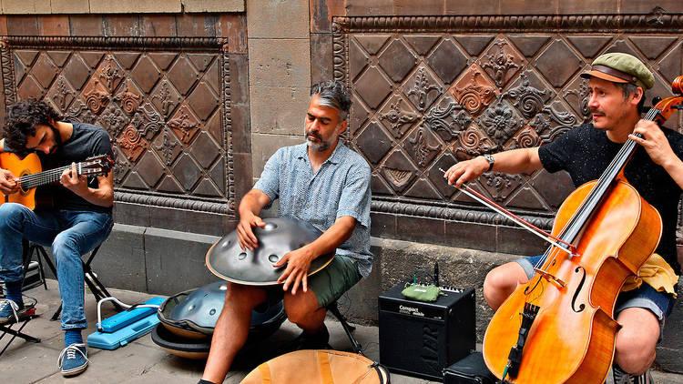 Músics al carrer