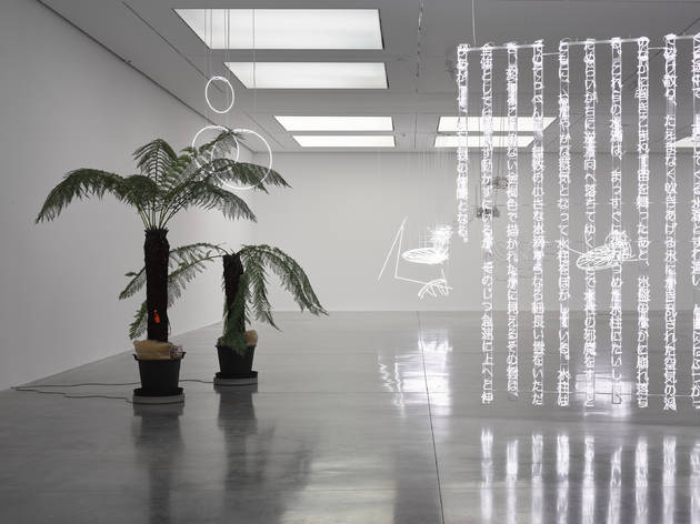 Cerith Wyn Evans. Photo © White Cube (Ollie Hammick)