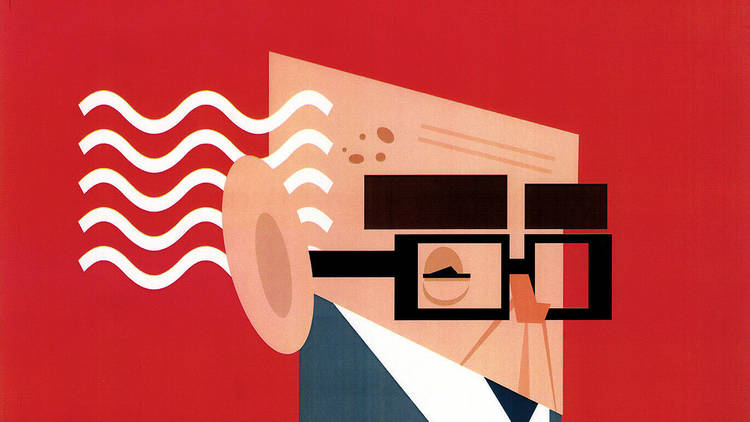Exposição de caricaturas de José Saramago no Alameda Shop & Spot