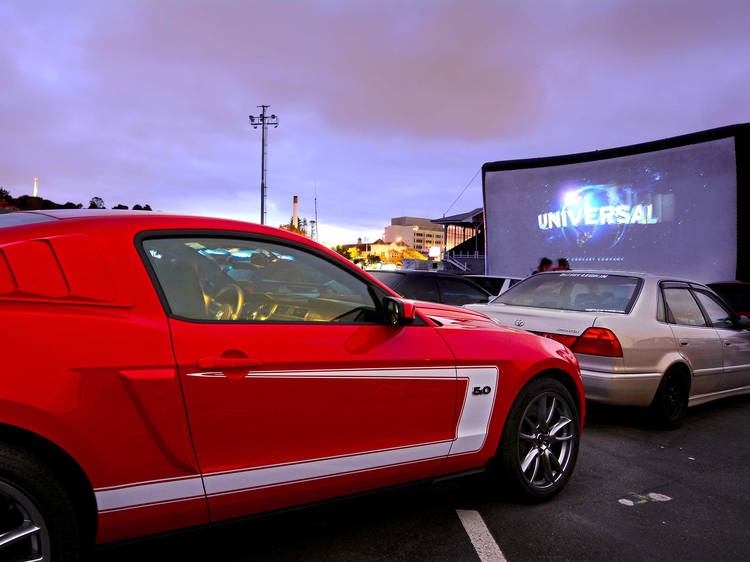 Catch a drive-in flick on the big screen