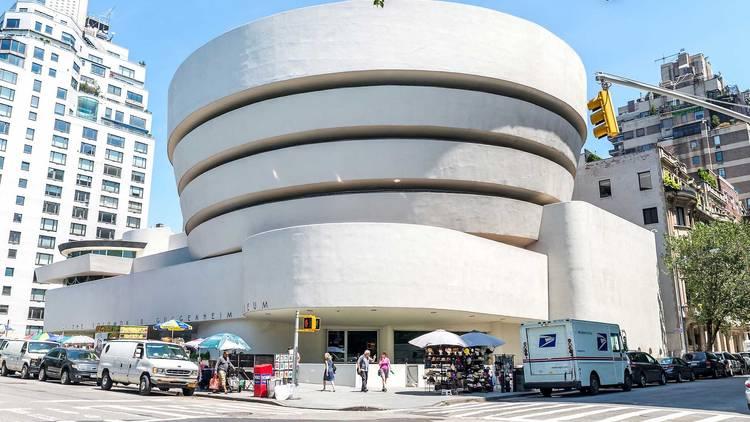 Solomon R. Guggenheim Museum, nyc, new york