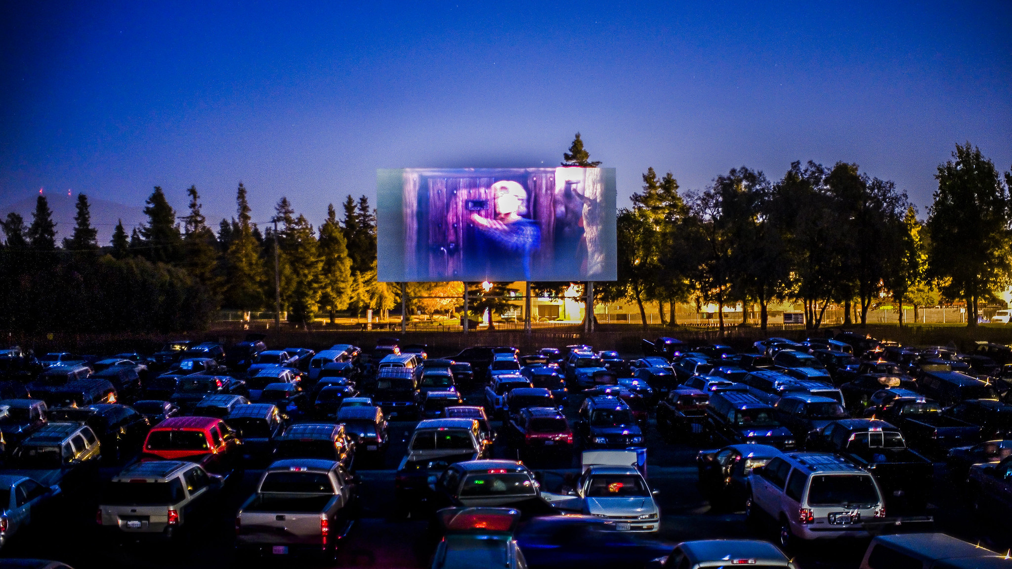 Generic drive in cinema image