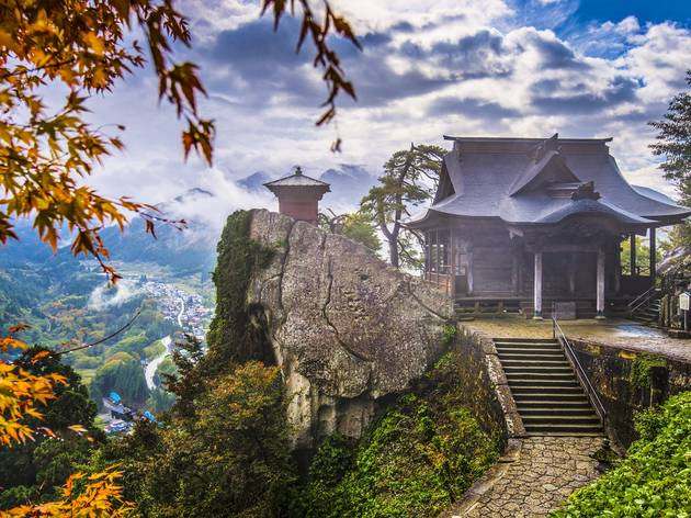 Yamadera temple yamagata