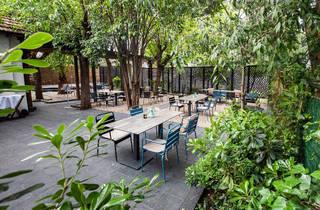 Terraza de El Jardín de Alma