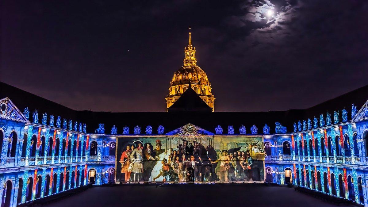 Un show spectaculaire va illuminer l'Hôtel des Invalides cet été