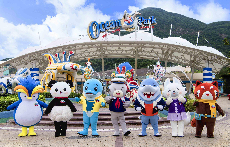 香港海洋公園重開