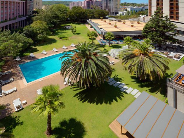 Piscina Marriott hotel