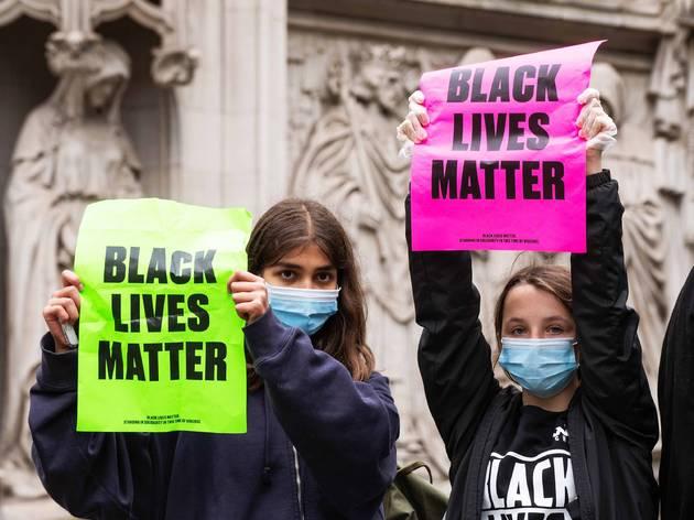 BLM; Brooklyn; Black Lives Matter; protest