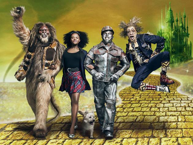 David Alan Grier as Lion, Shanice Williams as Dorothy, Ne-Yo as Tinman, Elijah Kelley as Scarecrow in THE WIZ LIVE! on NBC