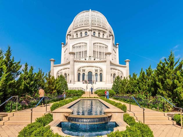 bahai, baha'i, Bahá'í House of Worship, temple, Baha'í House of Worship, nature, outdoors, outside, park, garden, shutterstock