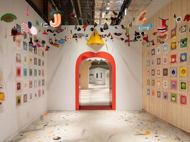 「絵とことば」をテーマにした新感覚の美術館がオープン