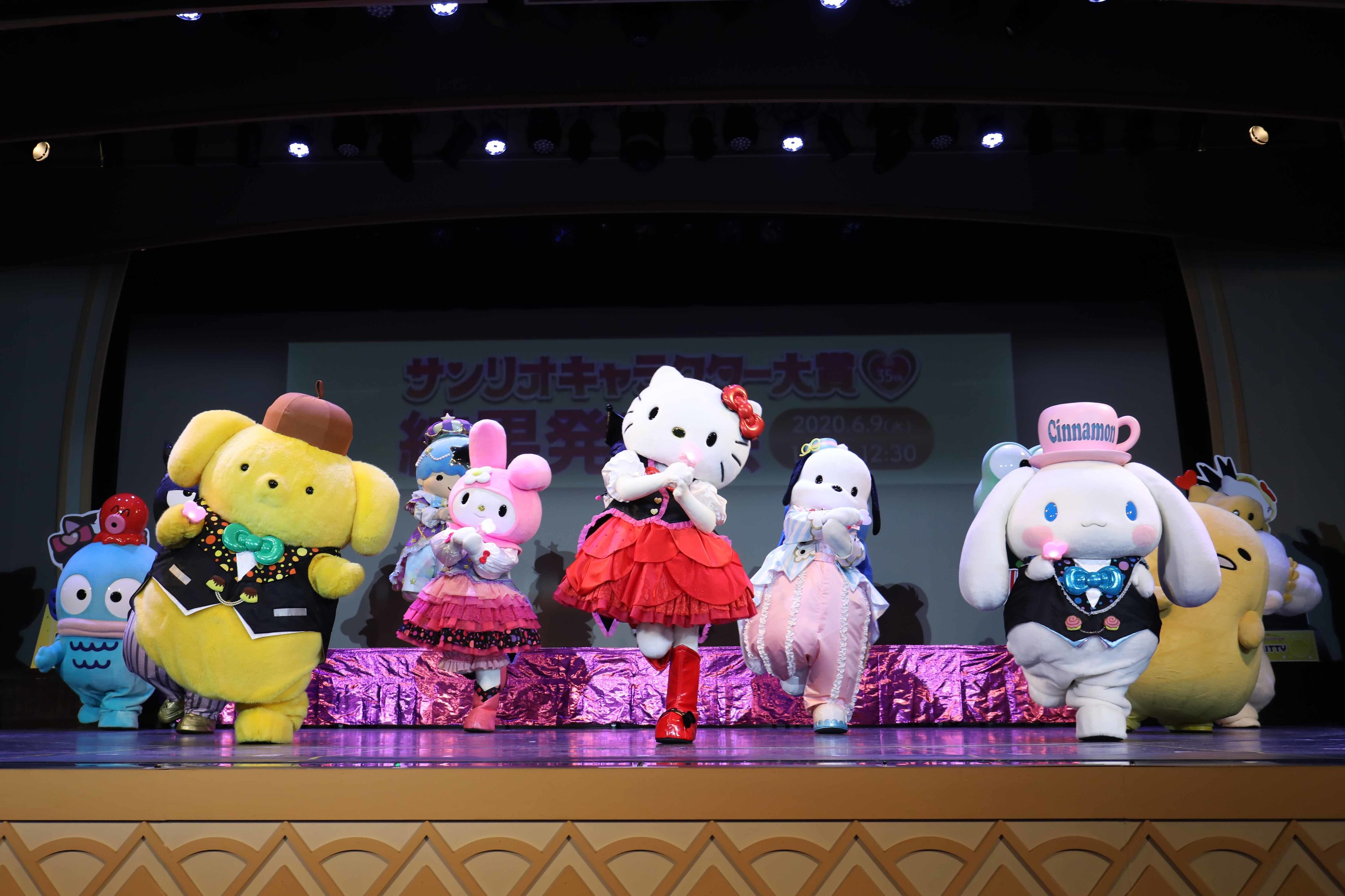 Cinnamoroll is the most popular Sanrio character in Japan, as ranked by fans
