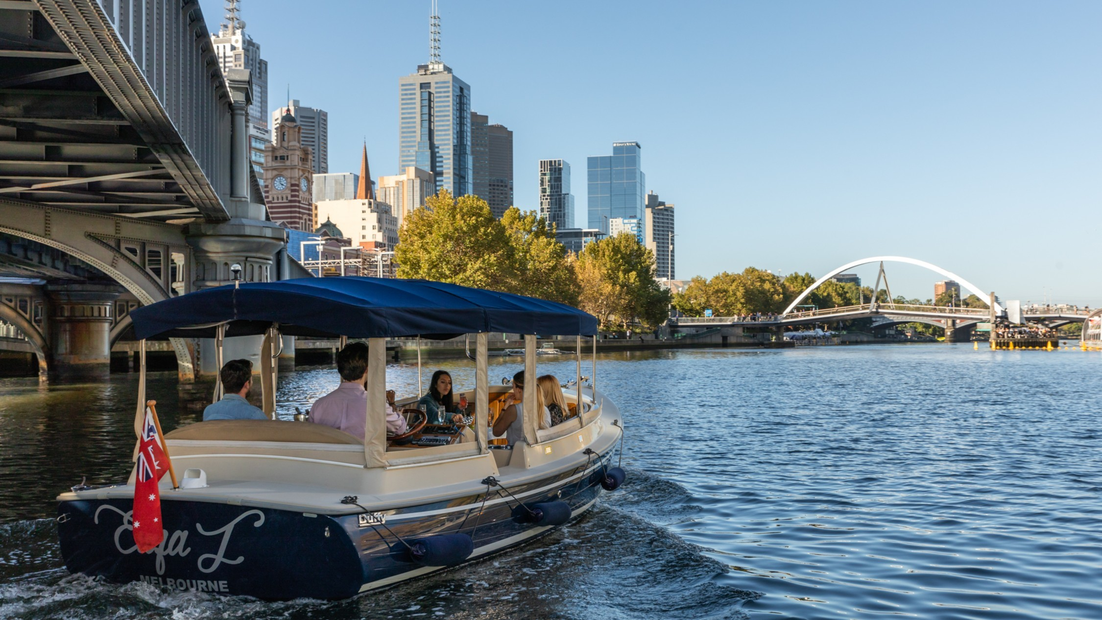 Melbourne Boat Hire self-driving boat