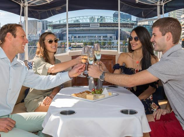 Melbourne Boat Hire wine and cheese cruise