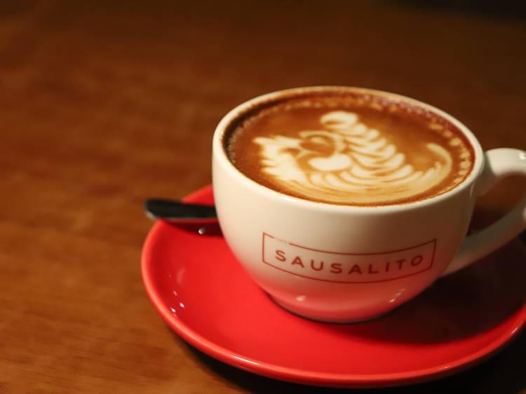 Café Sausalito:有 heart 咖啡店