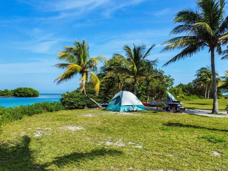 Florida: Set up camp in the Florida Keys