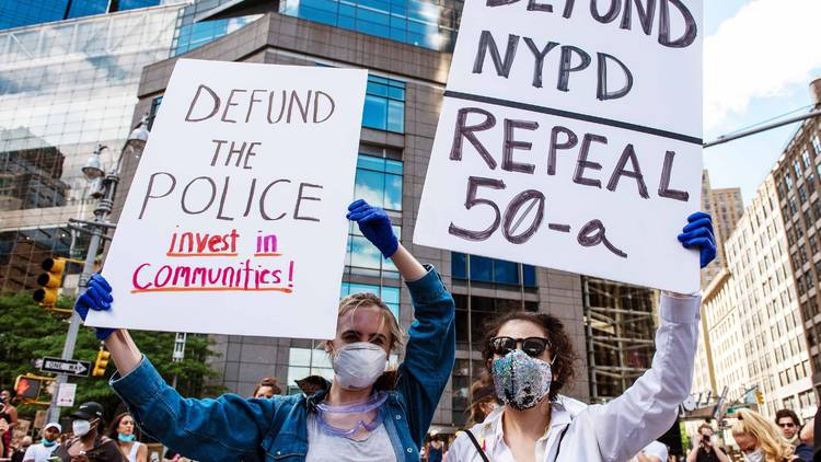 Repeal 50-a protesters