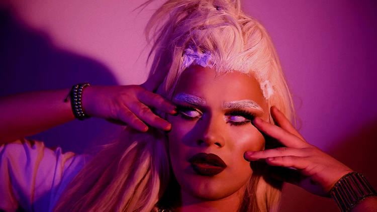Drag queen America fendi