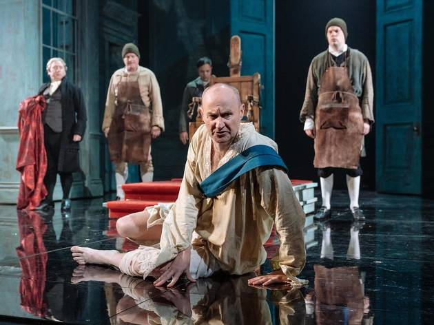 Mark Gatiss in The Madness of King George III
