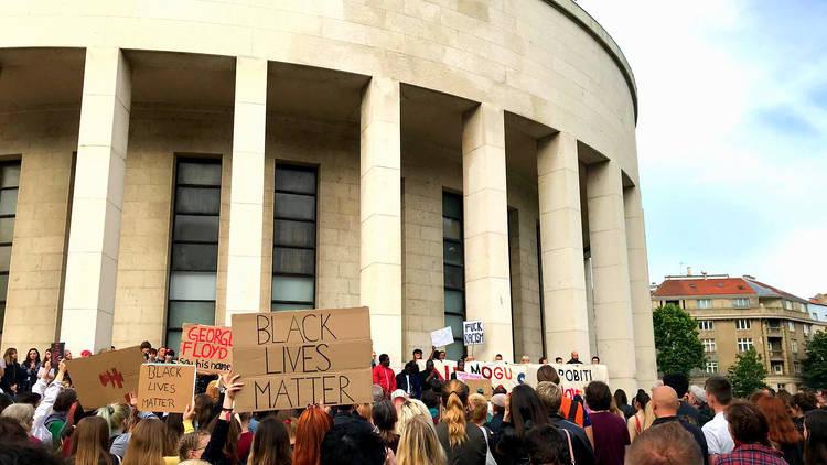 Black Lives Matter Zagreb
