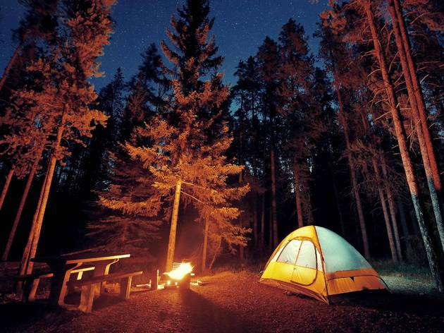 The best places to go camping near Chicago