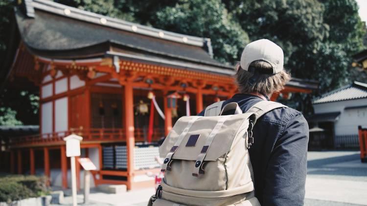 Fushimi Inari travel stock
