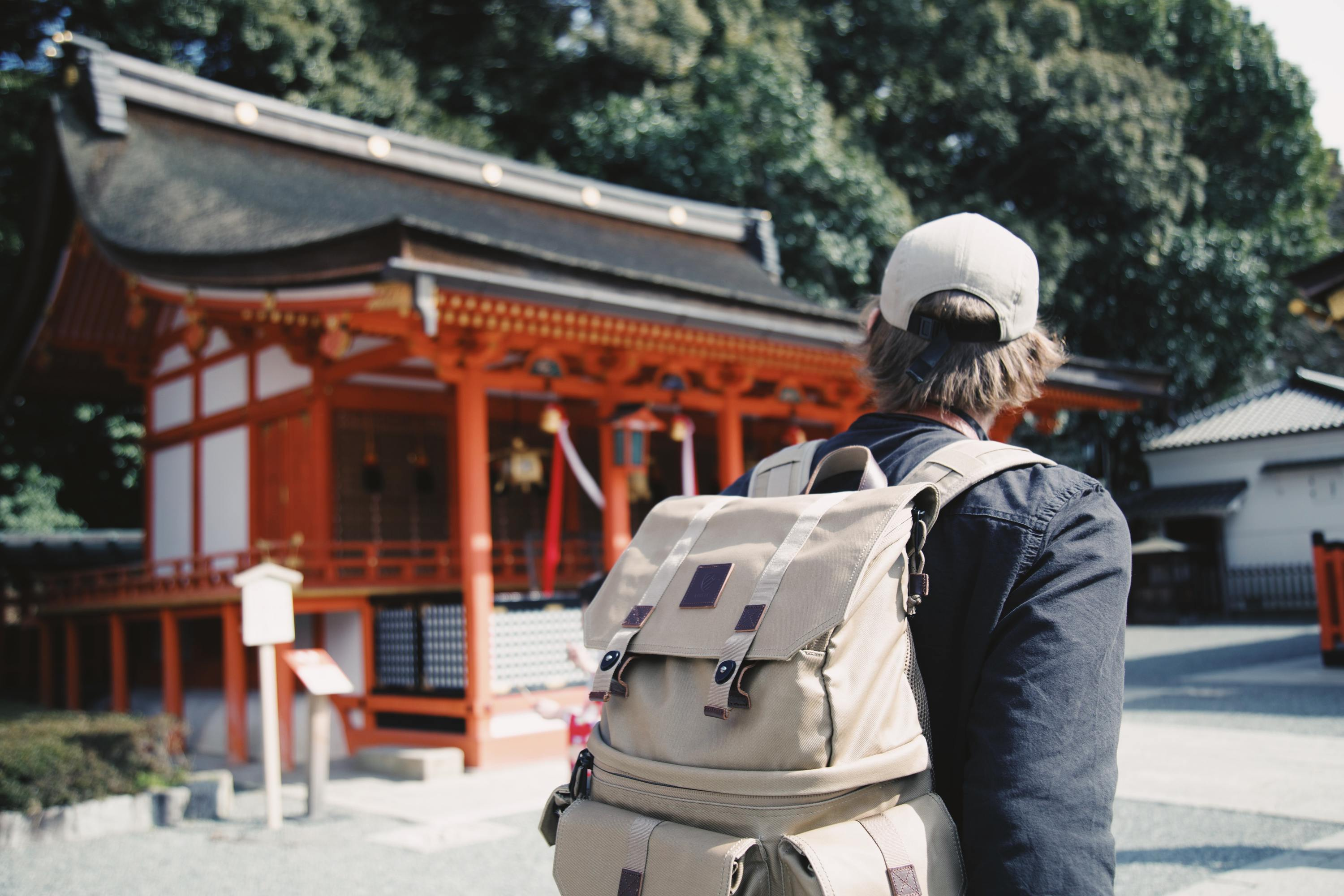 Fushimi Inari travel stock