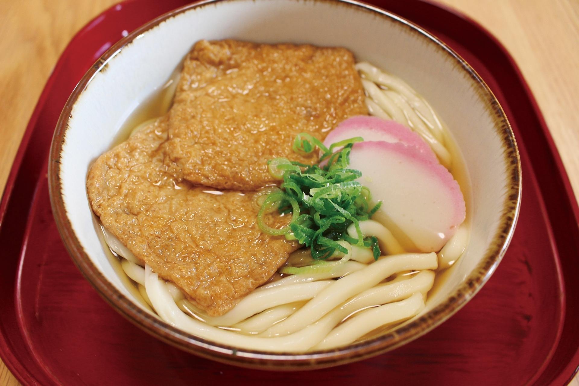 Kitsune Udon, Osaka food