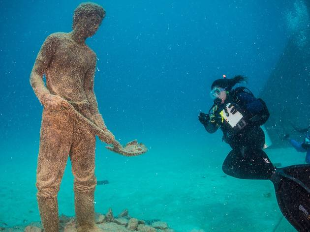 Coral Greenhouse, by Jason deCaires Taylor