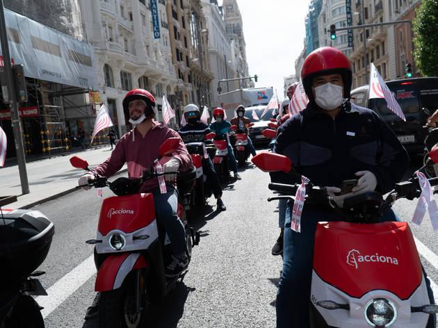 Acciona motos eléctricas motosharing