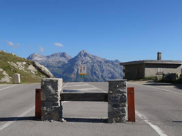 Swiss-Italian border, Splügen pass