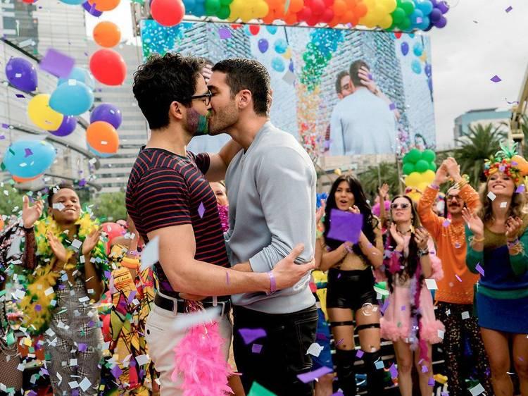 Les couples gays dans les séries