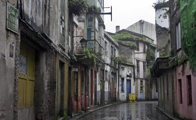 Ferrol Vello. Lista roja del patrimonio