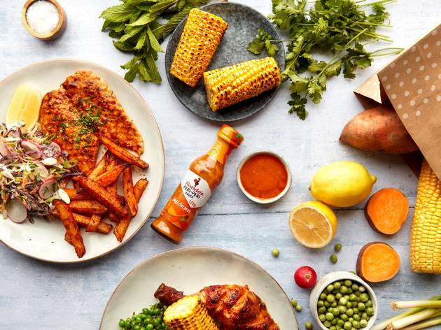 The Mindful Chef recipe kit with Nando's