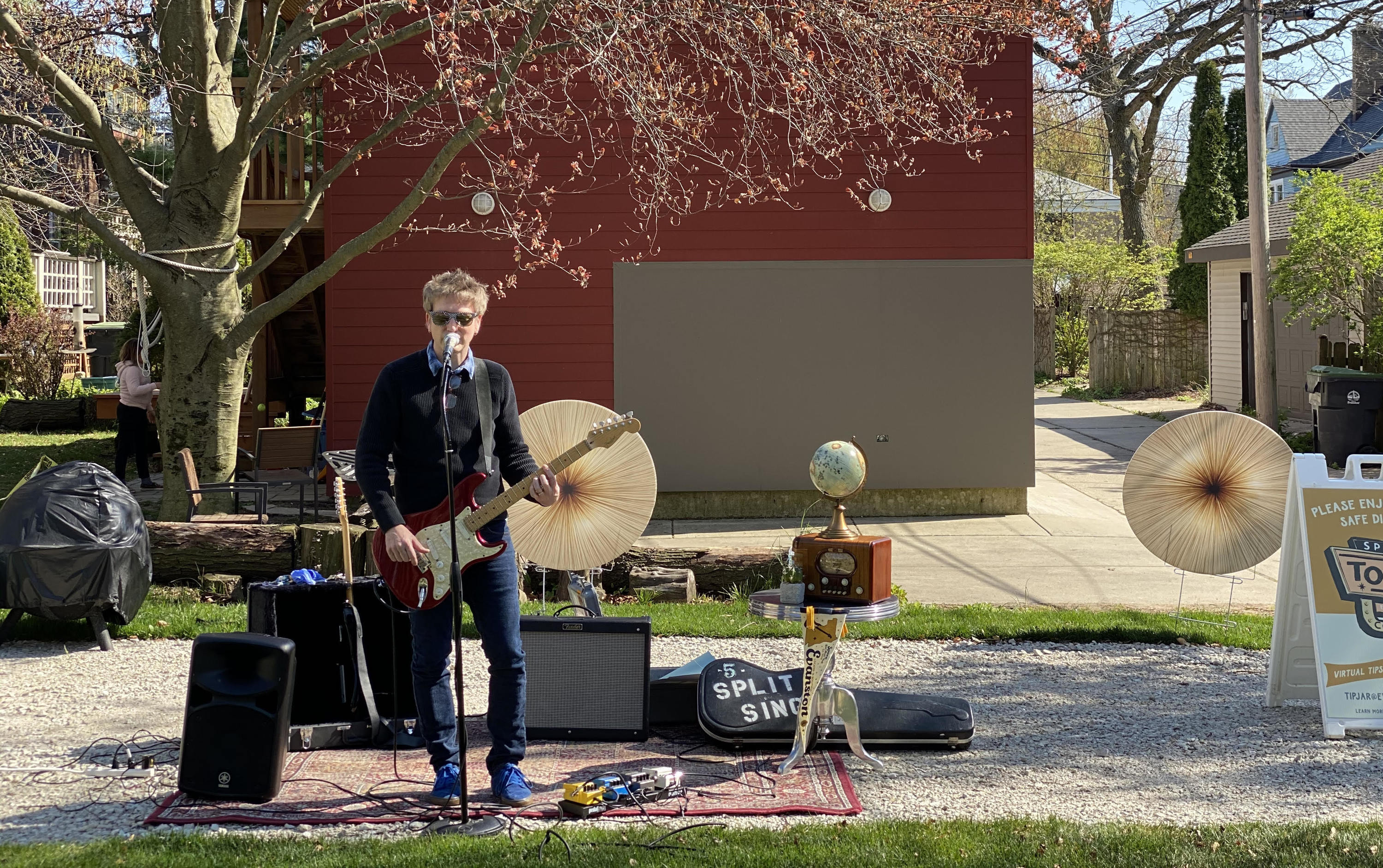 SPACE To-Go Concerts allow you to book a concert in your yard