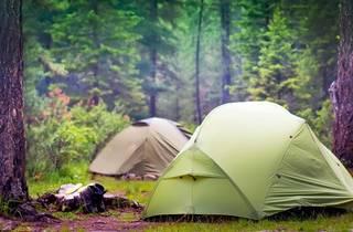 camping camp tent