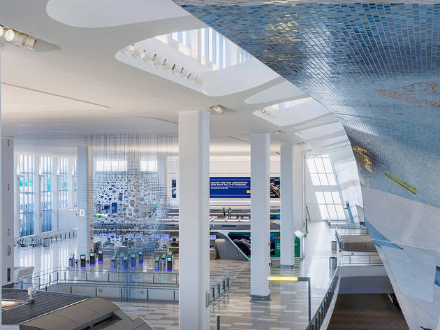 LaGuardia Terminal B, Location: Queens, New York, LaGuardia Gate