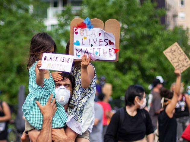 black lives matter; protest; BLM; brooklyn; new york
